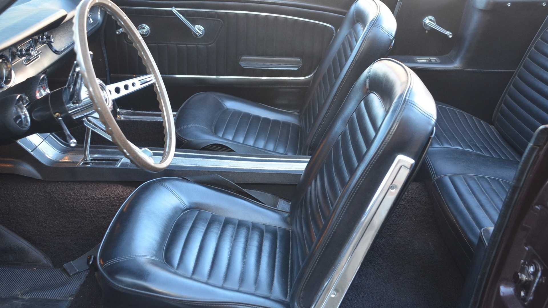"[""Clear Garage Space For This Pristine 1965 Ford Mustang 'Vert""]"