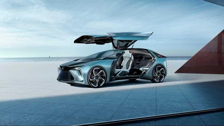Kerékbe telepített villanymotorokkal operál a Lexus LF-30