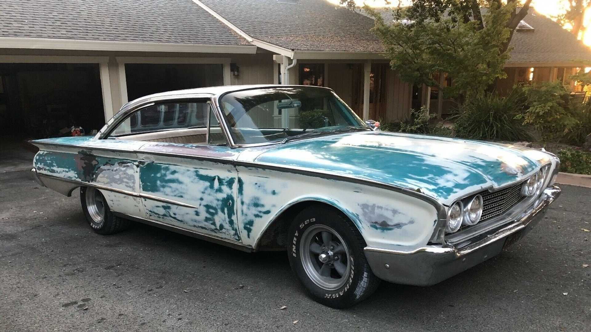 "[""eBay Discovery: Barn Find 1960 Ford Galaxie Sunliner Was Parked For 43 Years""]"