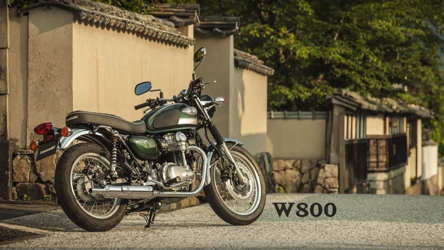 The New Kawasaki W800 Takes The Stage In Tokyo