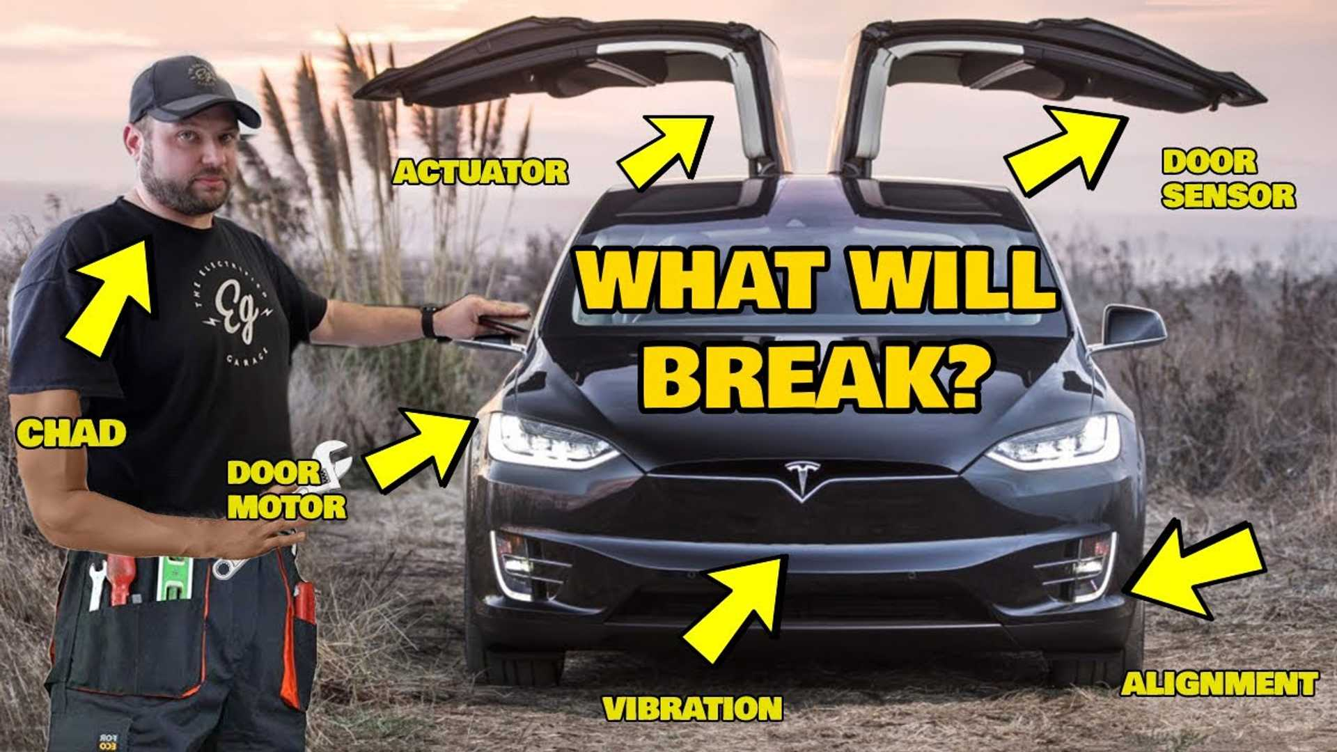 Electrified Garage Shows Us Common Issues A Tesla Model X Might Have