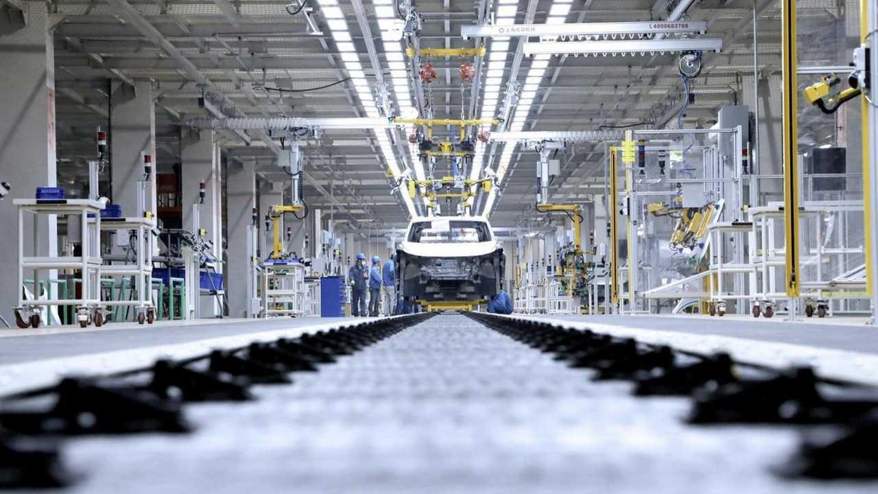 Fabbrica VW Cina