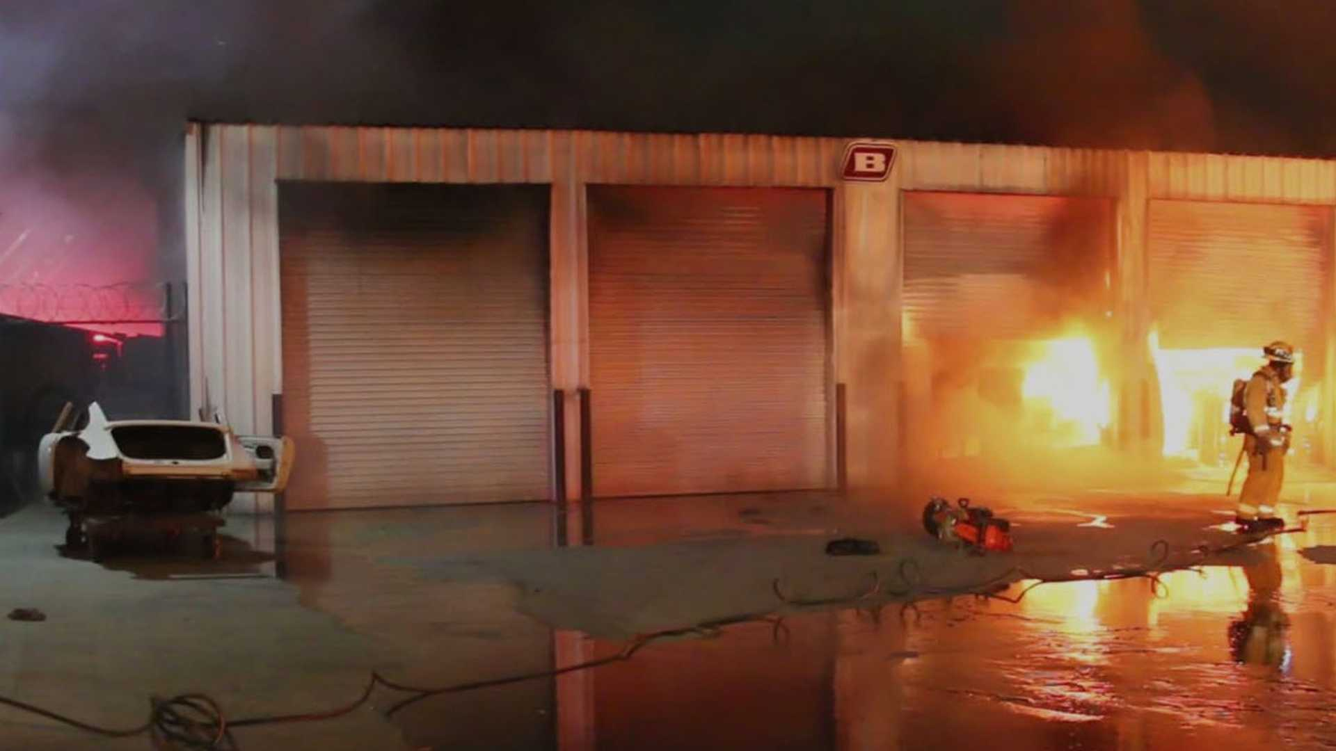 "[""Fire Destroys Classic Porsche Cars And Parts Worth $3 Million""]"