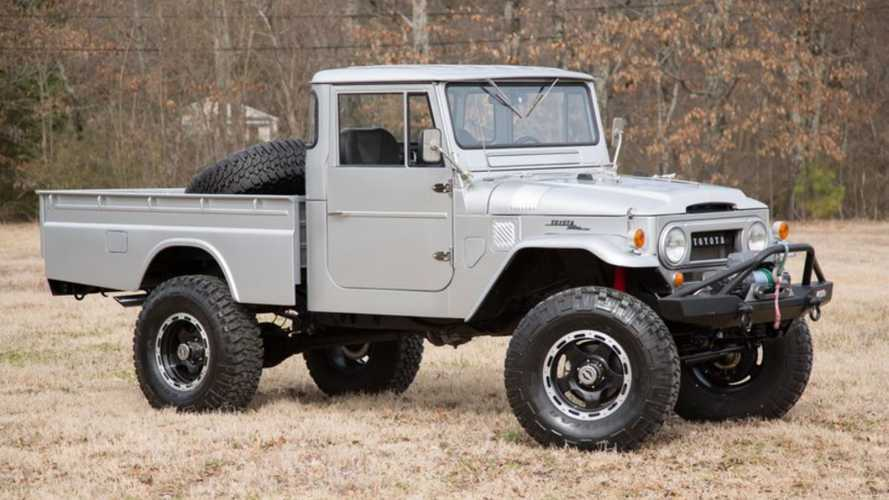 Rock An LS1-Powered Toyota FJ45