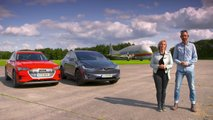 Tesla Model X drag races Audi E-Tron