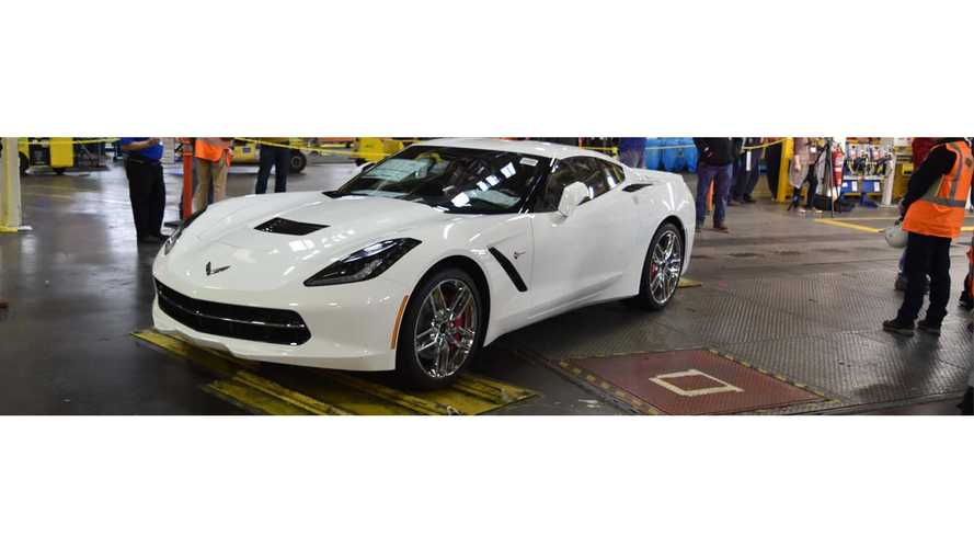 Penultimate C7 Corvette Being Enshrined At National Corvette Museum