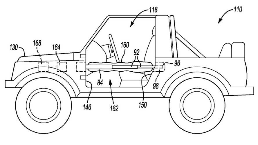 Ford Airbag Patent Filing Points To Bronco Getting Removable Doors