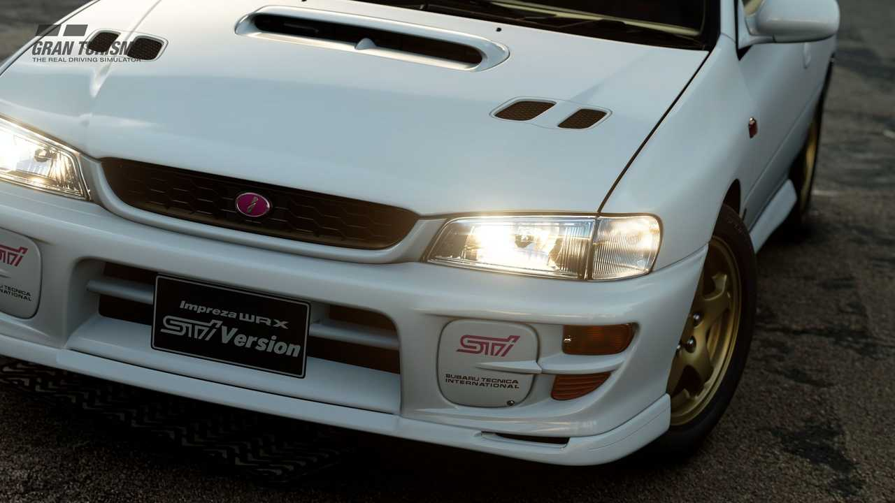 1999 Subaru Impreza Coupe Wrx Type R Sti Version Vi Joins Gran Turismo Sport 4315485