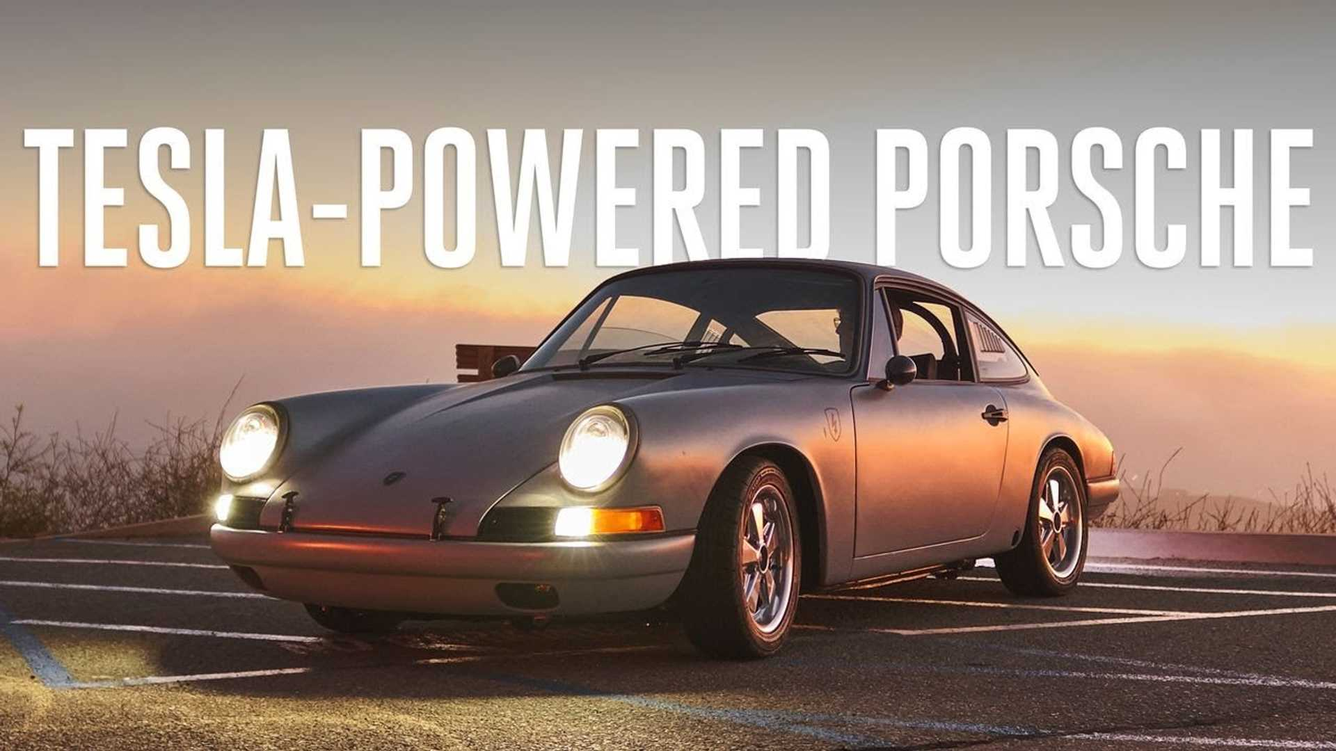 This Video Of A Tesla-Powered Porsche 912 Is A Must-Watch
