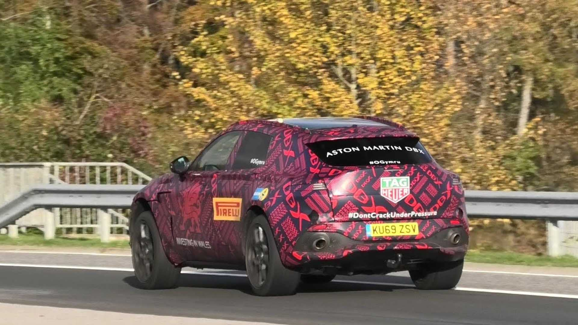 Aston Martin Dbx Spied Performing Final Testing Rounds Ahead Of Reveal