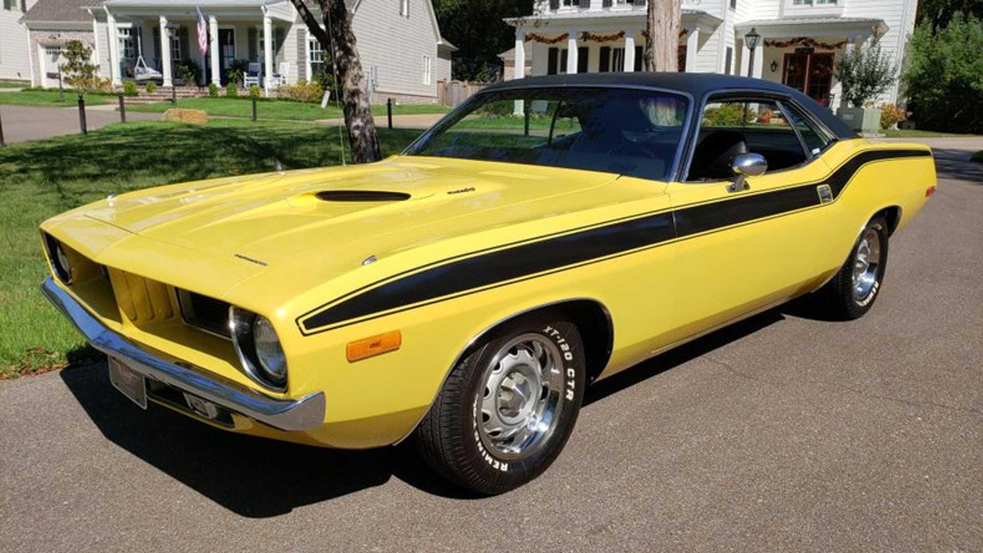"""[""""Buy This Legit 1972 Plymouth 'Cuda Survivor""""]"""