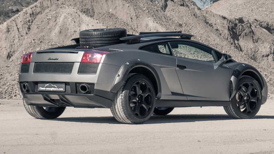 2004 Lamborghini Gallardo off-road