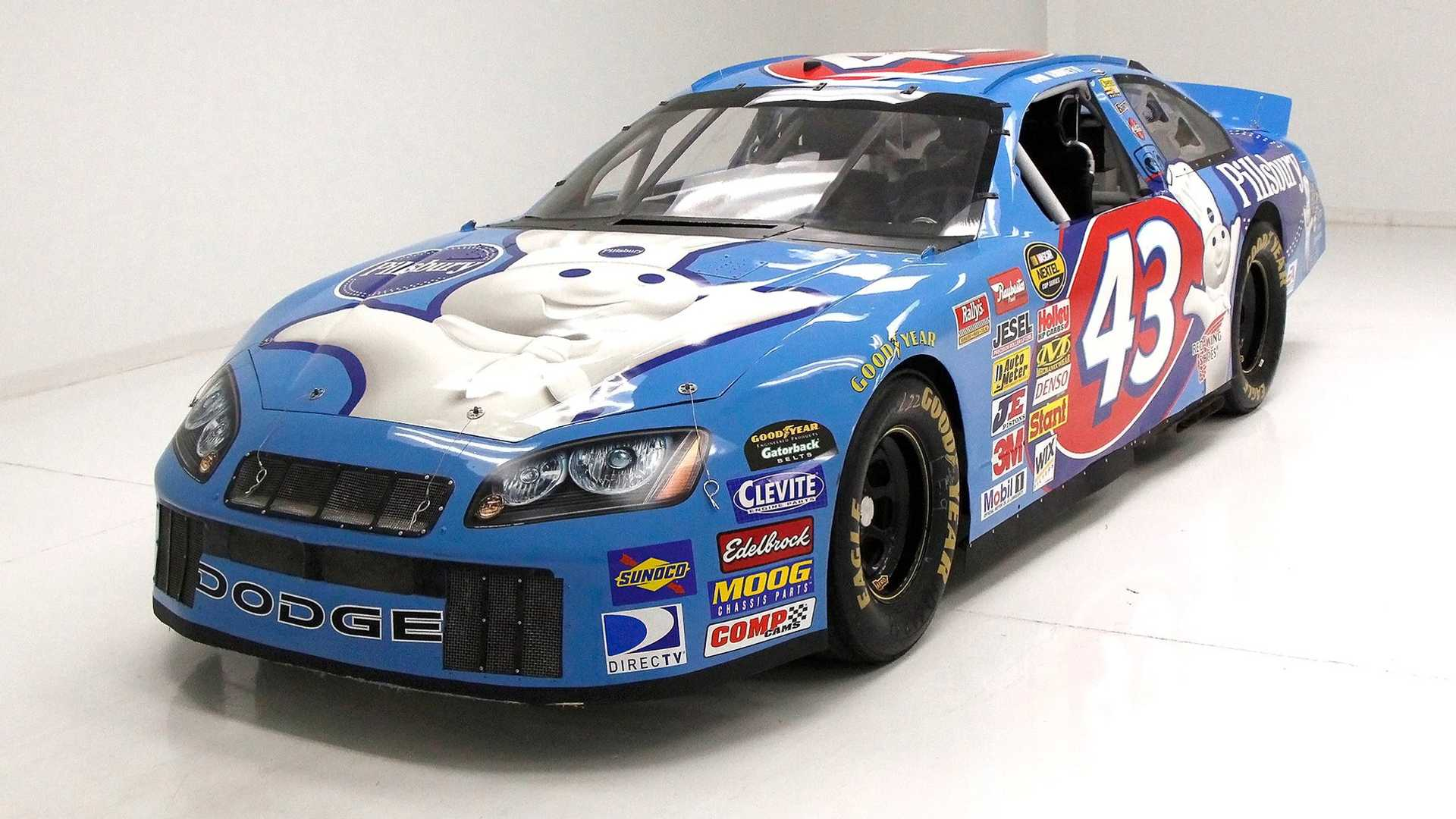 "[""Drive Like The King In This 2002 Dodge Intrepid NASCAR Cup Car""]"