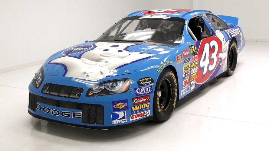 Drive Like The King In This 2002 Dodge Intrepid NASCAR Cup Car