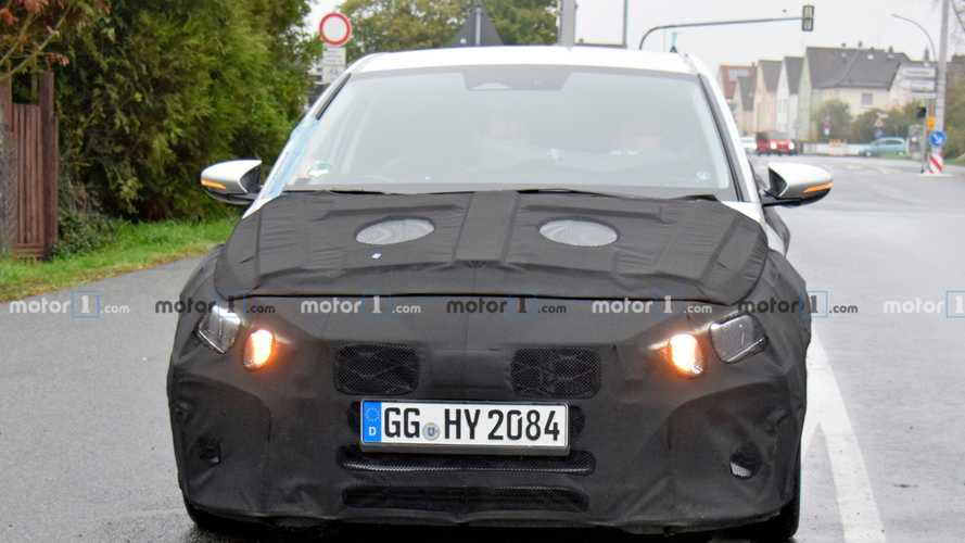 2020 Hyundai i20 new spy photos