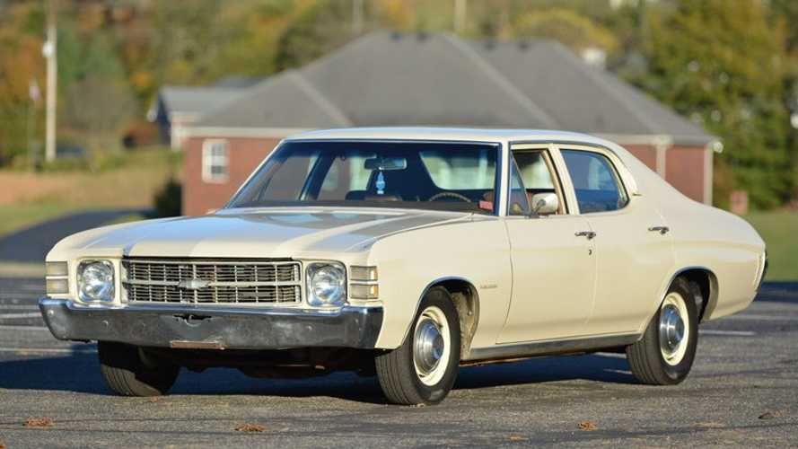 1971 Chevrolet Chevelle Sedan Is A Family-Style Survivor