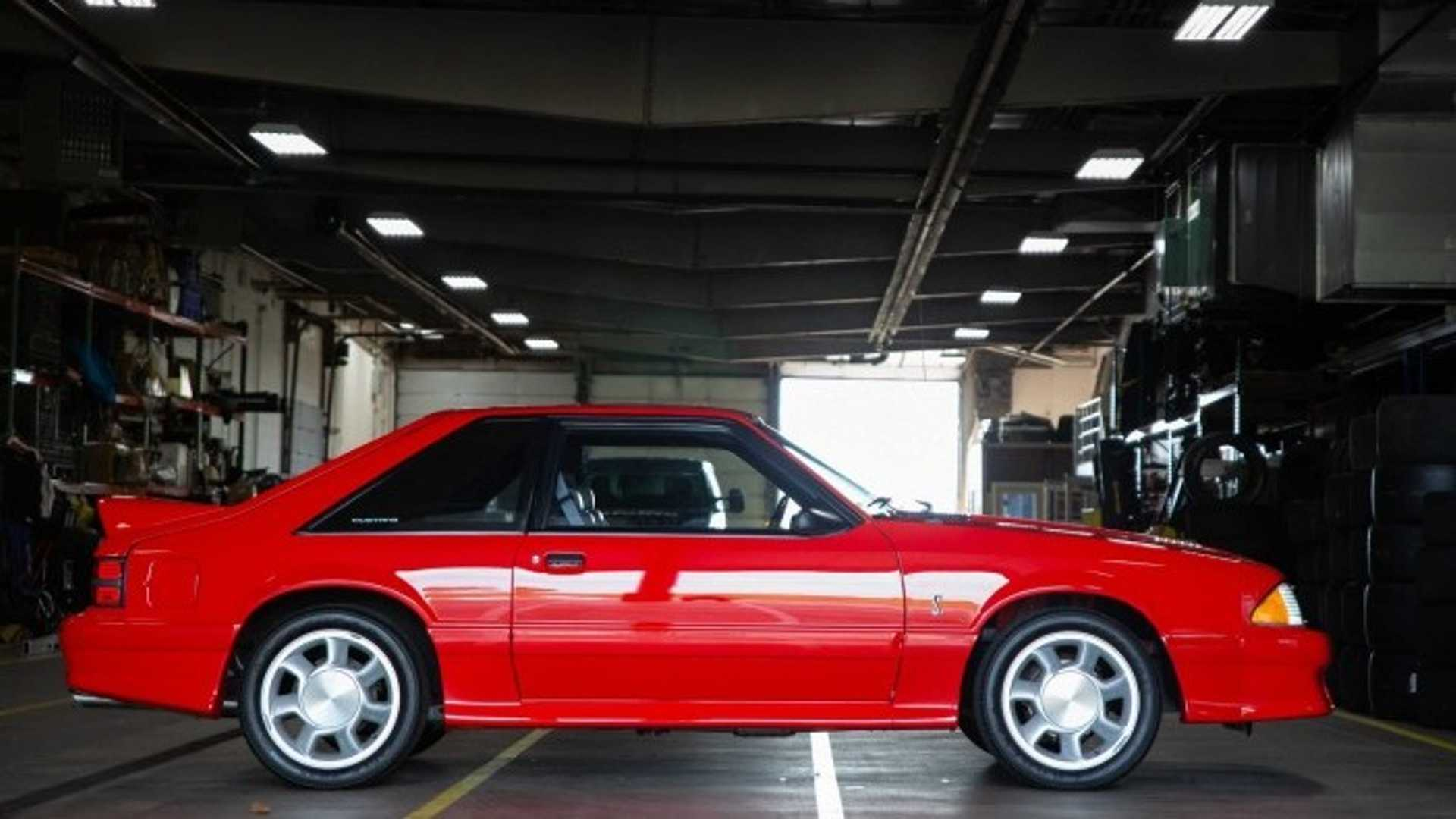 "[""Show 'Em Who's Boss With This 1993 Ford Mustang SVT Cobra""]"