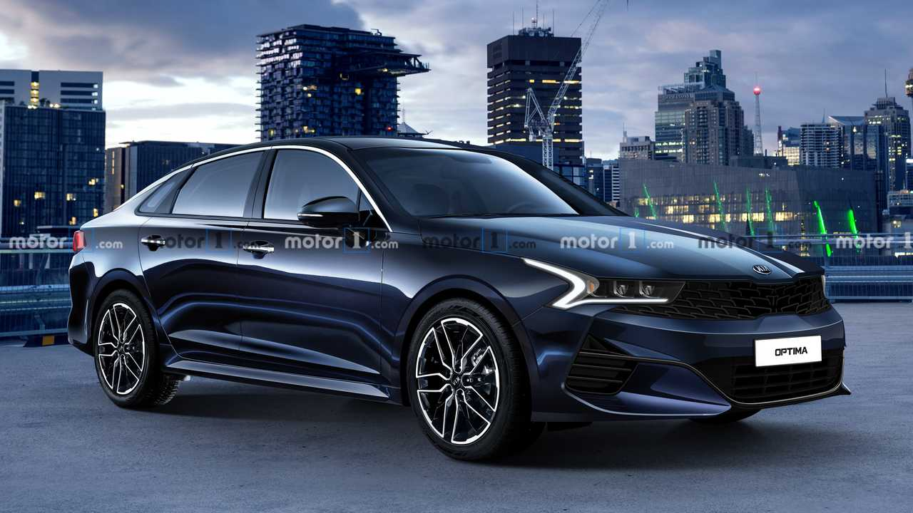 2021 Kia Optima Rendering