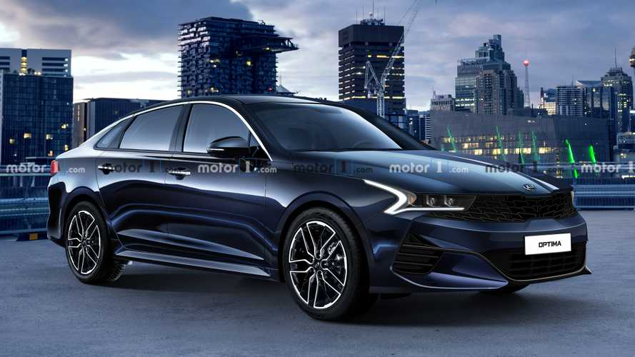 Renders exclusivos del Kia Optima 2021