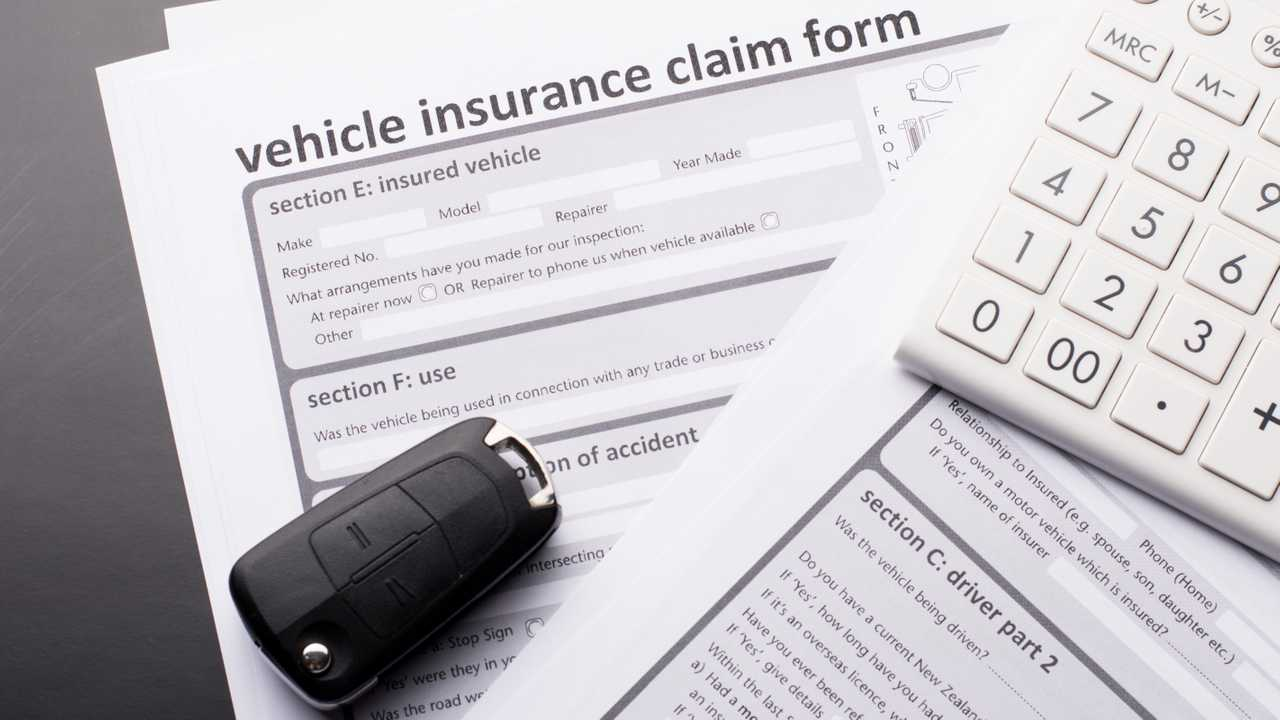 Car insurance claim forms