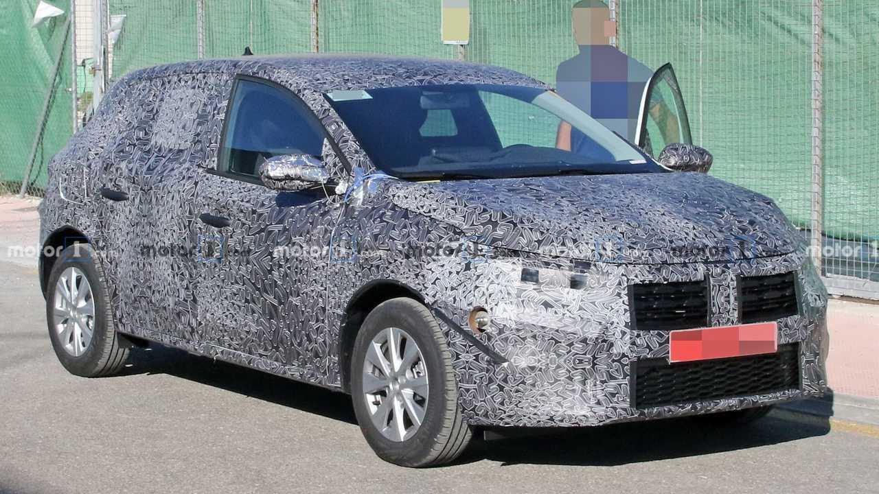 Dacia Sandero 2020 - Flagra