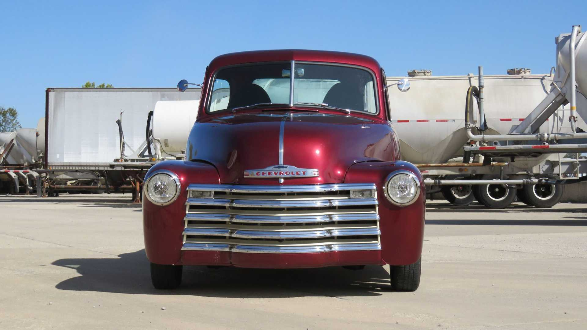 "[""Turn Heads In This 1947 Chevrolet 3100 5-Window""]"