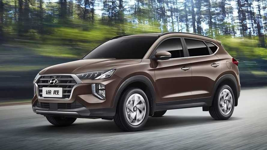 Hyundai Tucson 2020 (China)