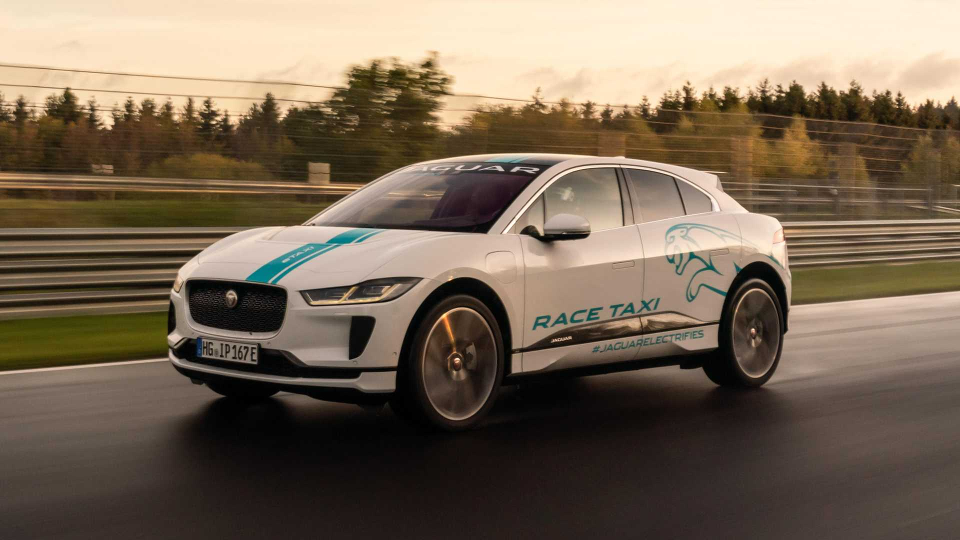 Jaguar offers eco-friendly passenger laps of the Nürburgring