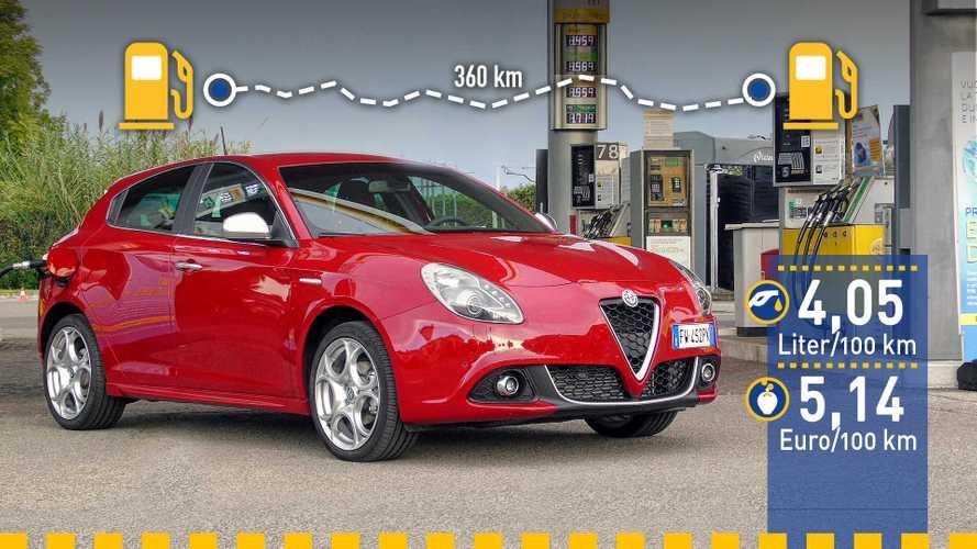 Tatsächlicher Verbrauch: Alfa Romeo Giulietta 1.2 JTDm im Test