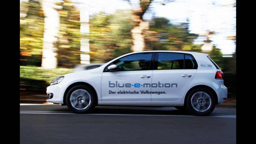 Volkswagen Golf Blue-e-motion: elettrica