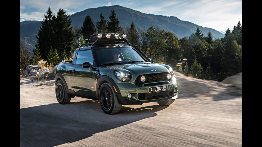 MINI Paceman Adventure, il pick-up estremo
