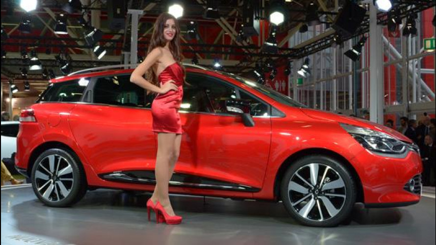 Motor Show 2012, Renault Clio Sporter, Break all'italiana