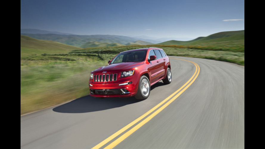 Jeep Grand Cherokee SRT8: debutto europeo