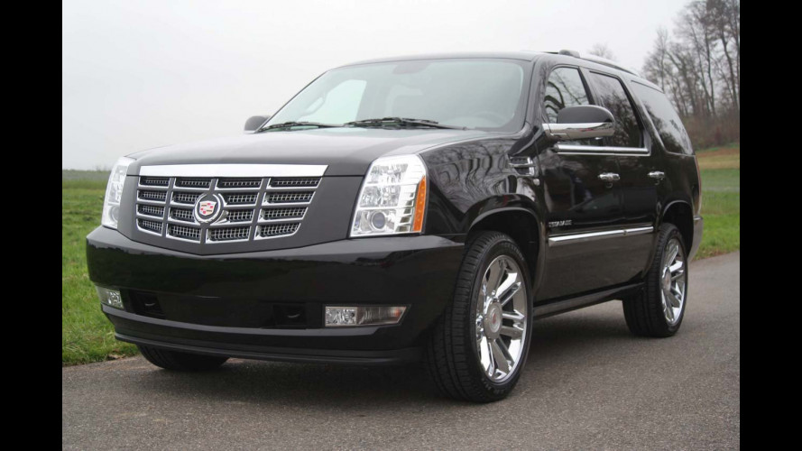 Cadillac Escalade Platinum Edition 2011
