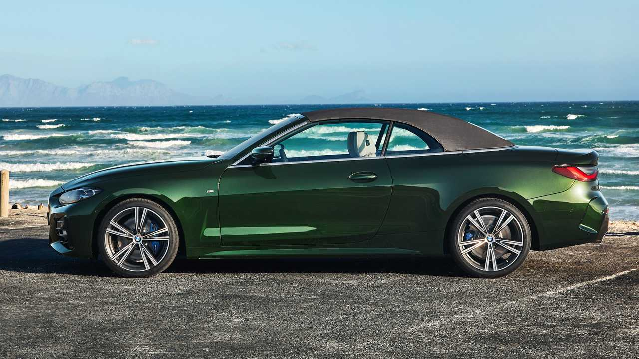 2021 Bmw 4 Series Convertible Goes Soft Debuts Without Folding Hardtop