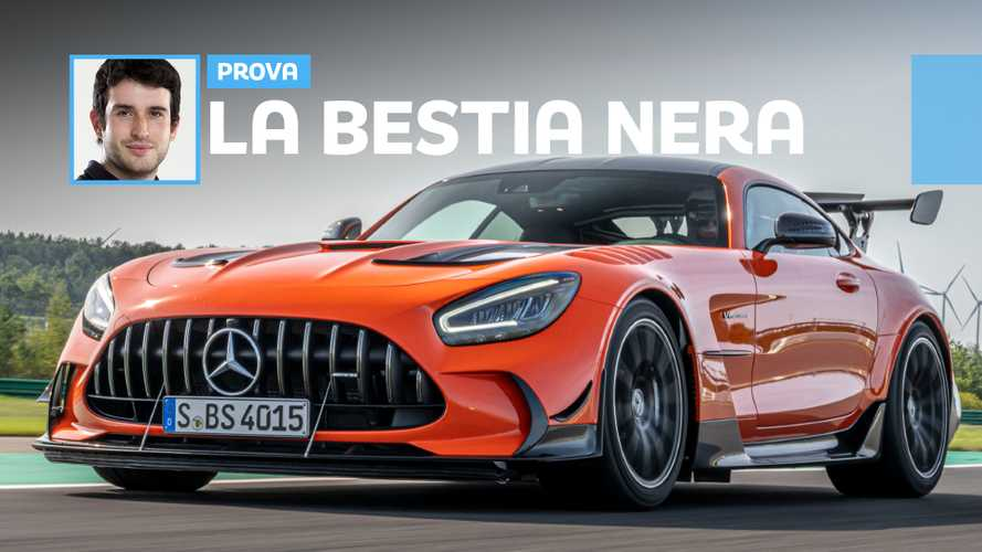 Mercedes-AMG GT Black Series, in pista con la più potente di sempre