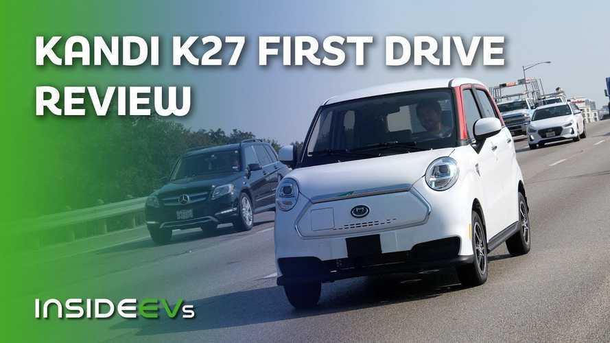 Kandi K27, Mobil Listrik Mungil Asal Cina Memulai Petualangan di AS