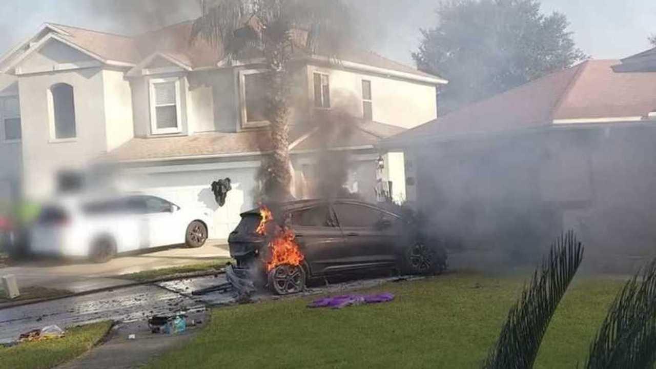 Incendie Chevrolet Bolt EV