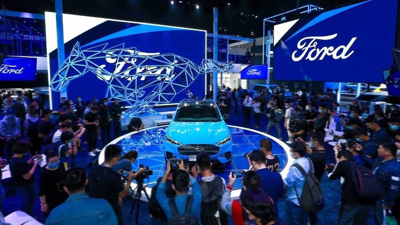 Ford Mustang Mach-E revealed at Beijing Motor Show