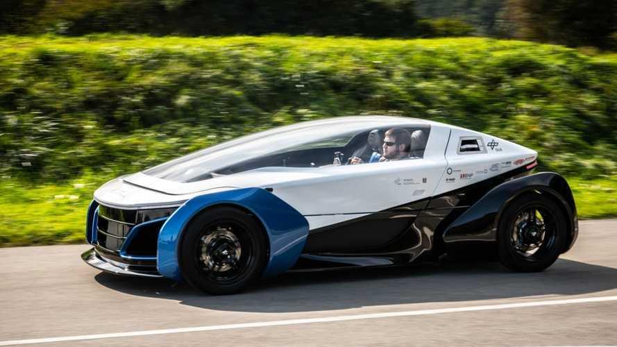 Safe Light Regional Vehicle (SLRV): Ein Kleinwagen mit Brennstoffzellen