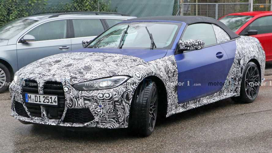2022 BMW M4 Convertible spy photos