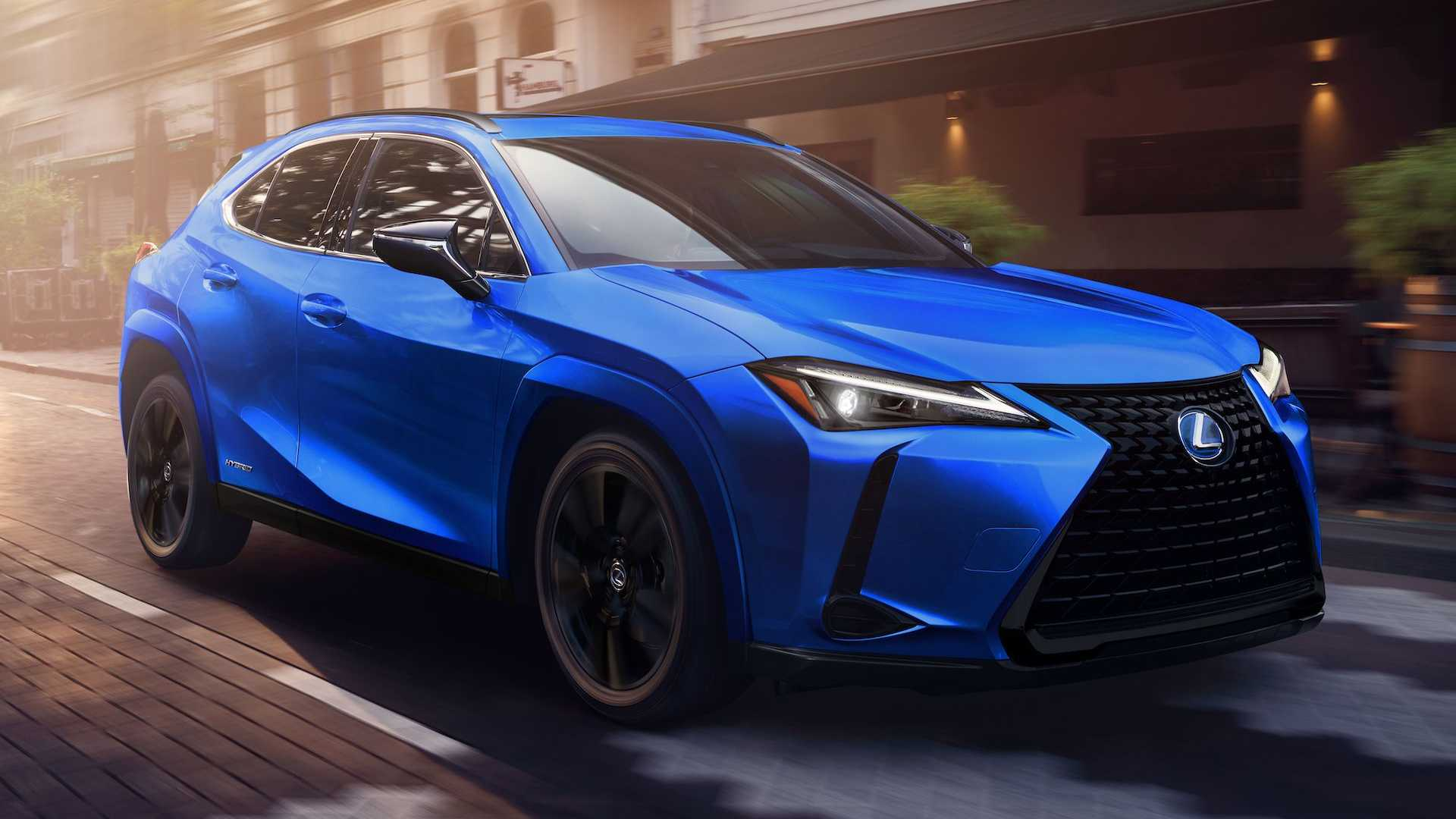 4 Lexus UX 4h Gets Most Requested Black Line Special Edition
