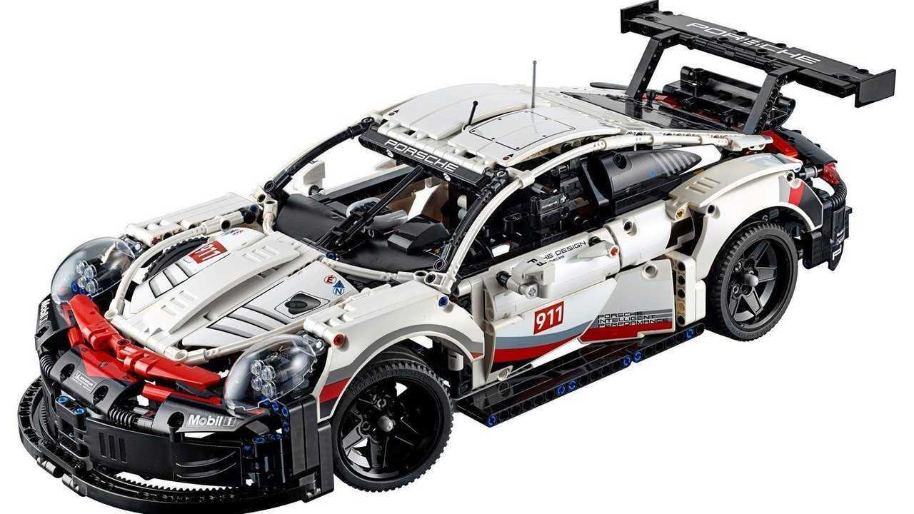 Porsche 911 RSR - 1.580 piezas