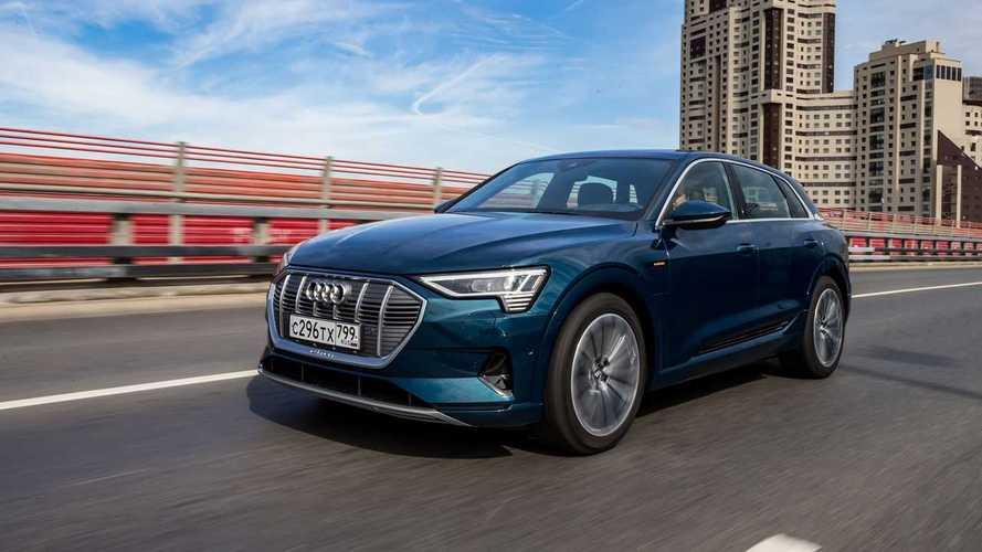 Тест драйв Audi e-tron