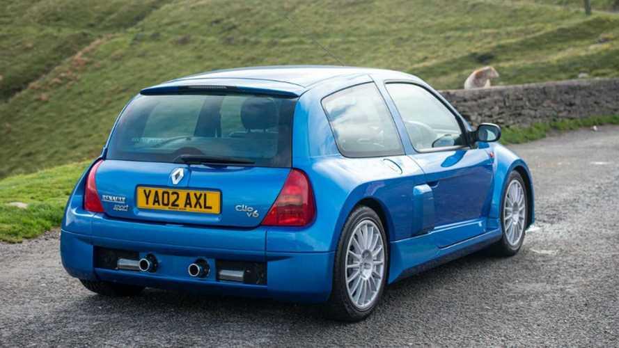 Une Renault Clio V6 de 2002 adjugée 65'000 euros