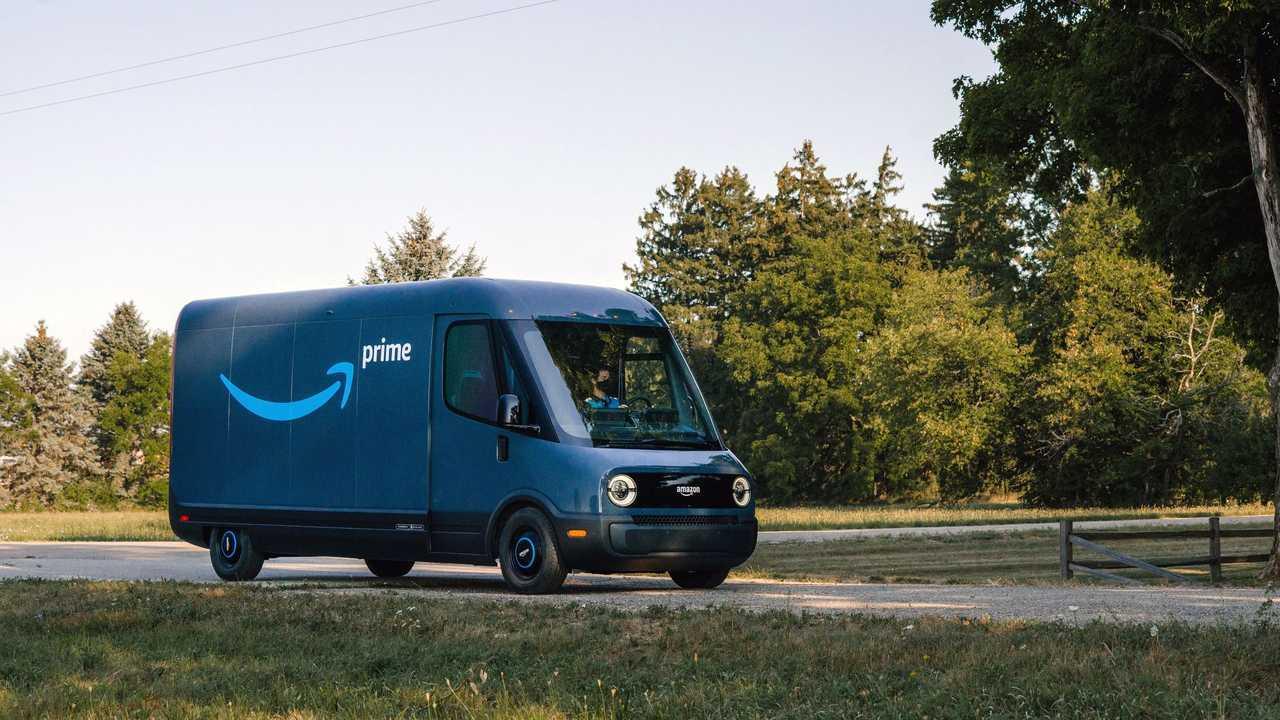 Amazon Van by Rivian