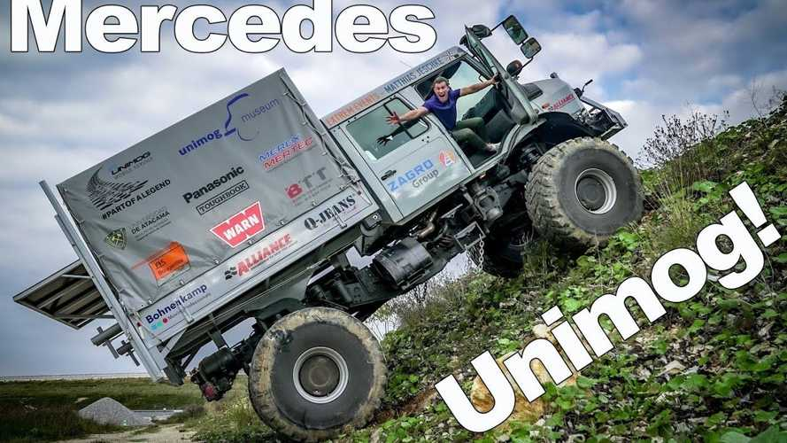 The Mercedes Unimog Is A True Off-Road Beast