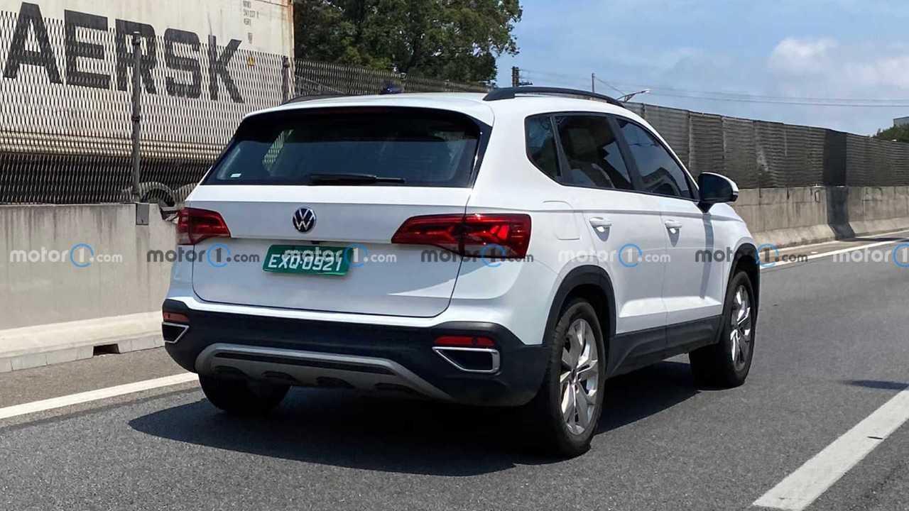 Volkswagen Taos - Flagra sem camuflagem