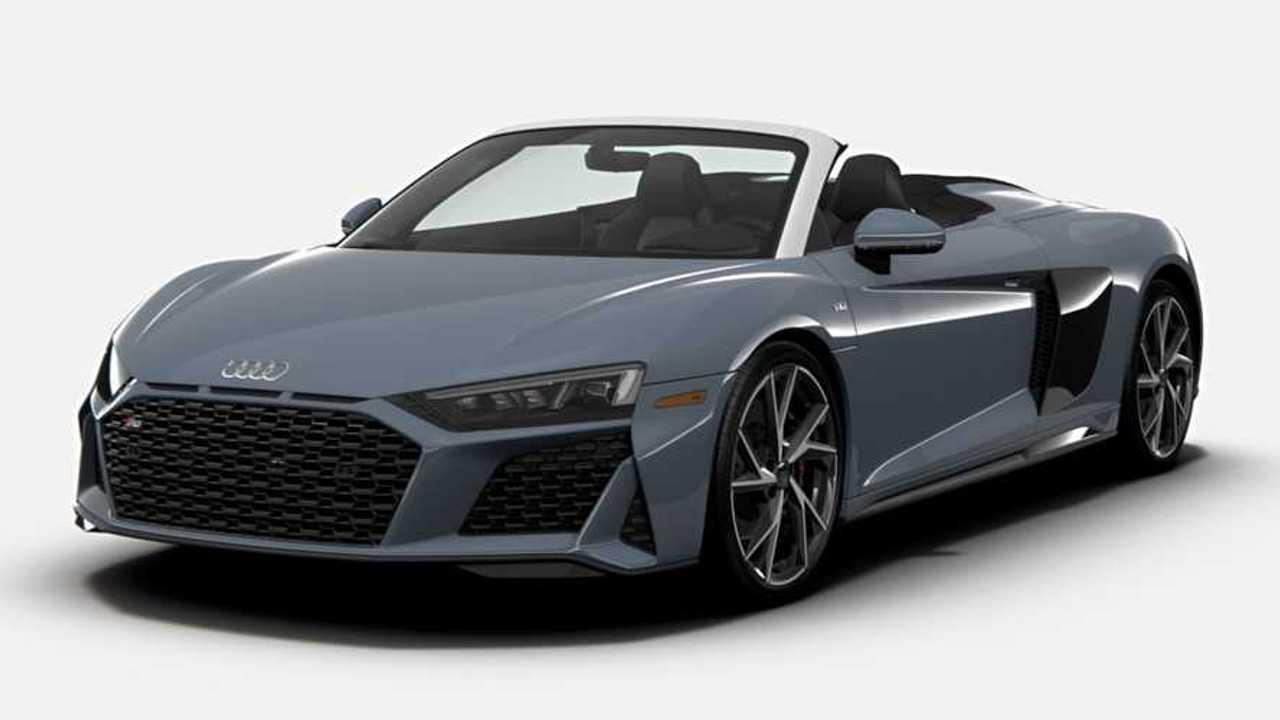 2021 Audi R8 RWD front