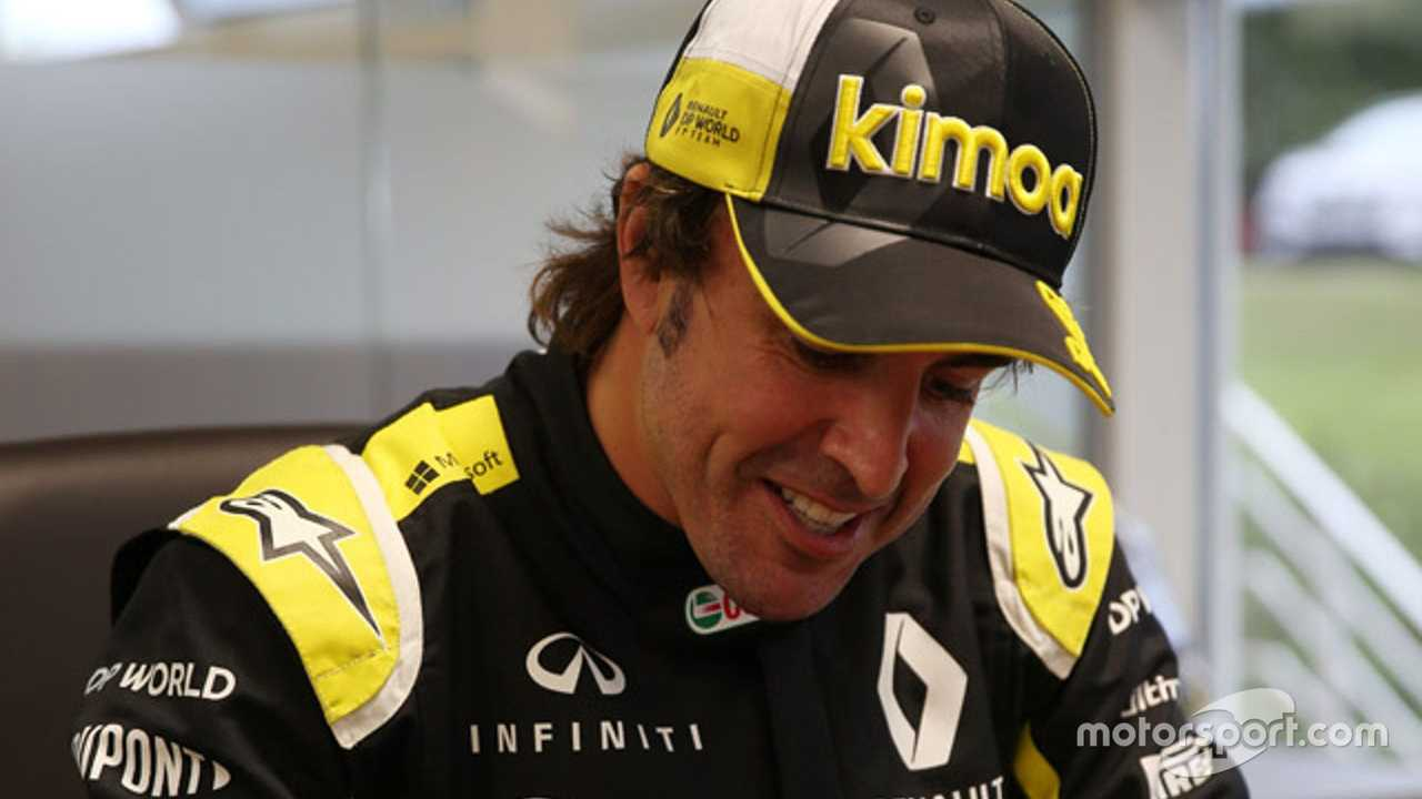 Fernando Alonso Renault factory visit 09.2020